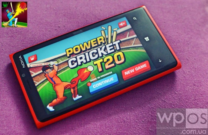 Power Cricket T20 для windows phone