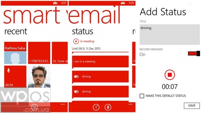 smart voicemail wp8
