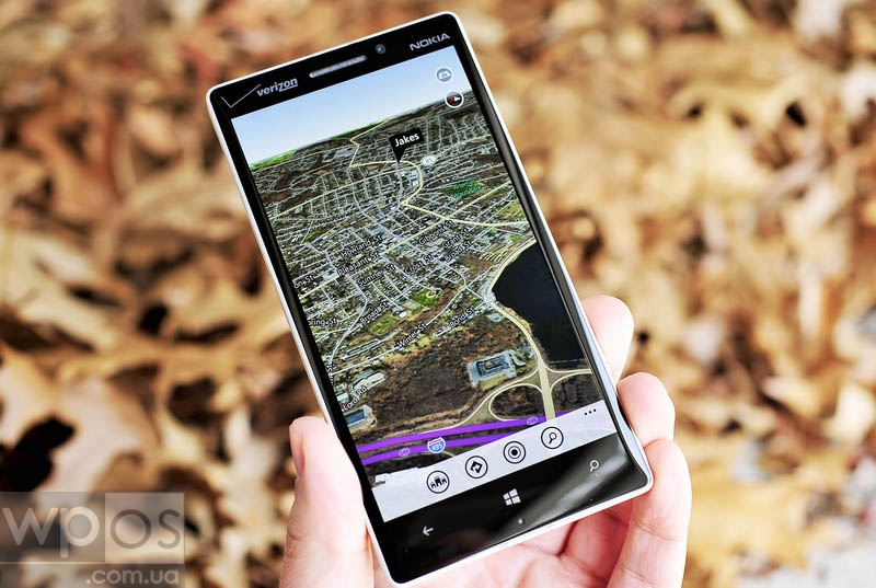 3D Maps на Windows Phone 8.1