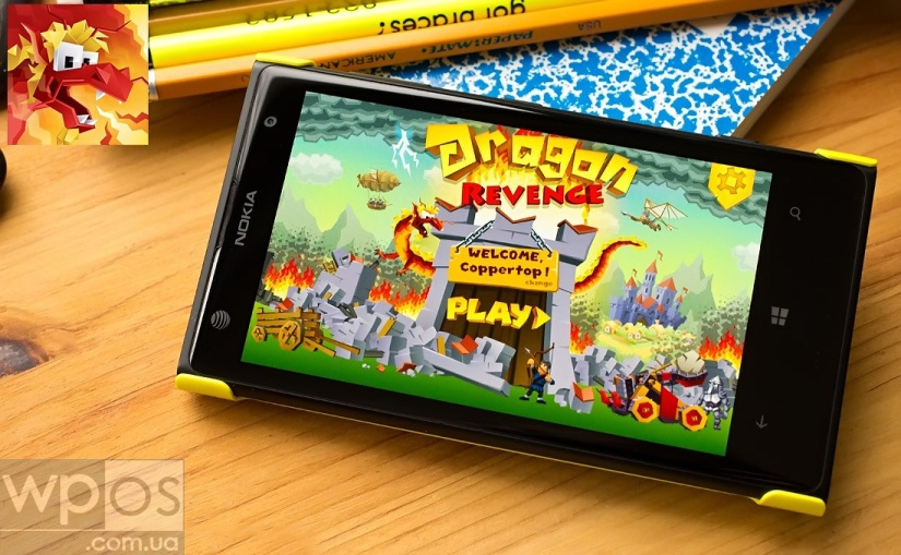 Dragon Revenge на windows phone