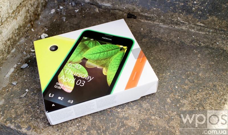 lumia 630 распаковка