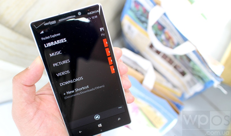 Pocket Explorer для windows phone 8.1