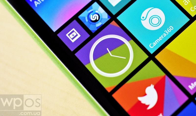 Analog Clock Tile wp8