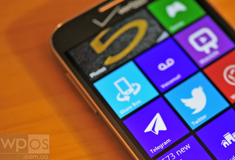 Telegram на windows phone