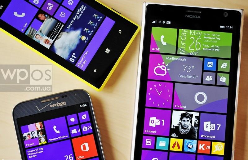 Windows Phone продажи