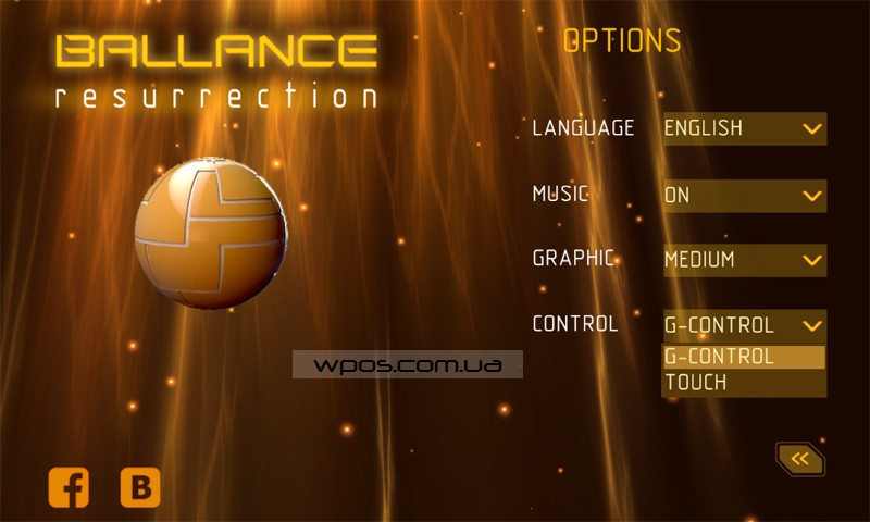 Ballance_Resurrection_Menu