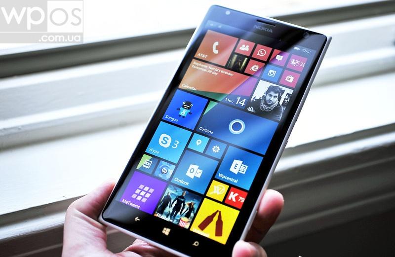 Lumia 1520 на Windows Phone 81