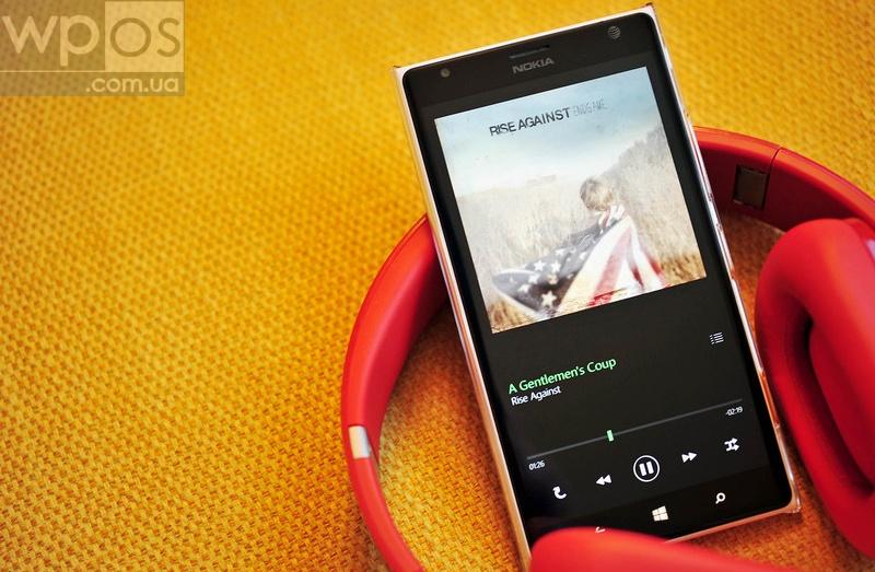 One Music на windows phone 8.1