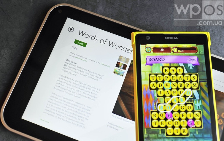Words of Wonder для windows phone
