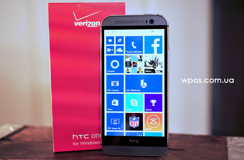 HTC One verizon анбоксинг