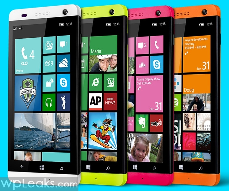 BLU win HD windows phone