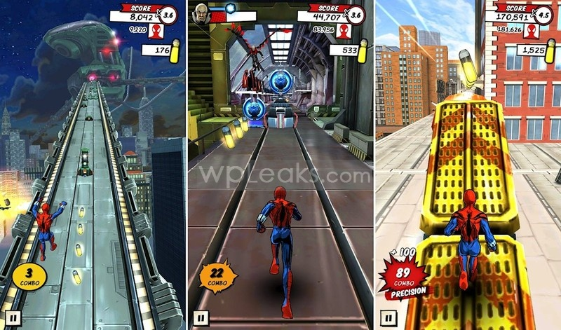 Spider-Man_Unlimited_Gameloft_combos
