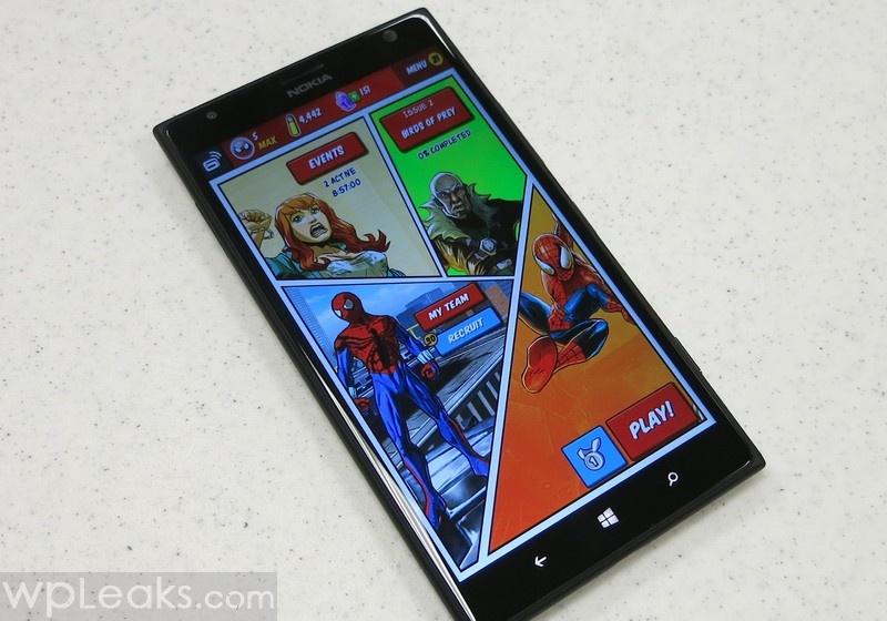 Spider-Man_Unlimited_Windows_Phone_Lumia_1520