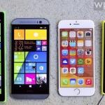 Сравнение iPhone 6 с топовыми виндофонами: Lumia 1...