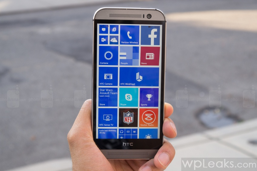 HTC One M8 for Windows Обзор