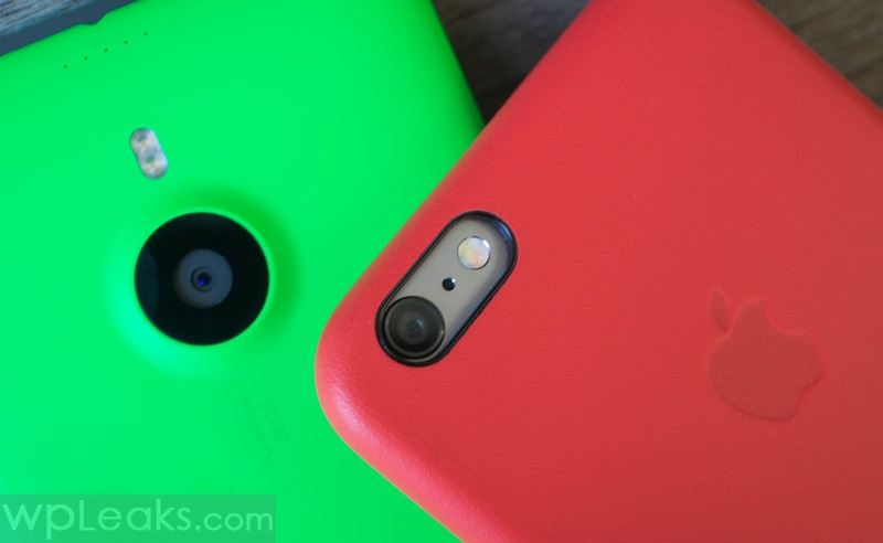 iphone 6 plus против lumia 1520 камеры