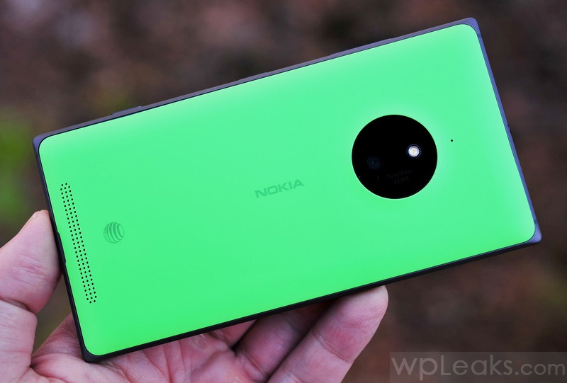 Lumia 830 зеленый