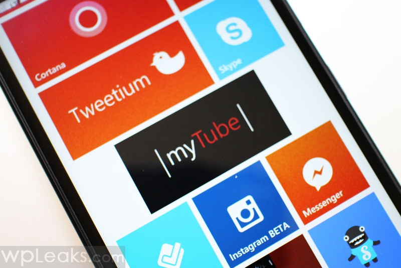 myTube windows phone