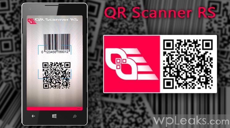 QR Scanner RS windows phone