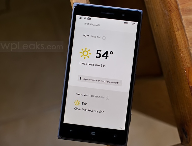 Appy Weather wp 8