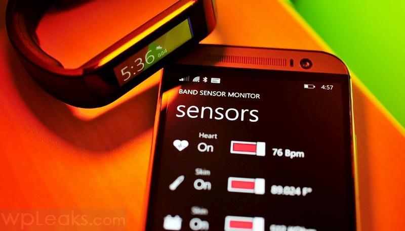 Band Sensor Monitor