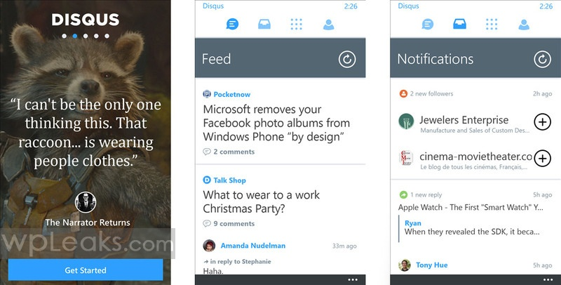 Disqus 2 Windows Phone