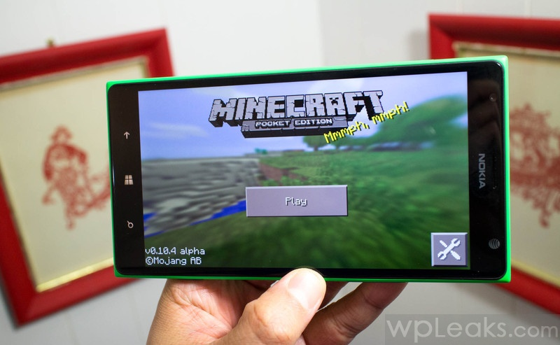 minecraft на lumia 1520