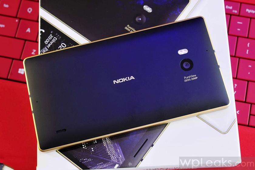 золотая lumia 930 распаковка