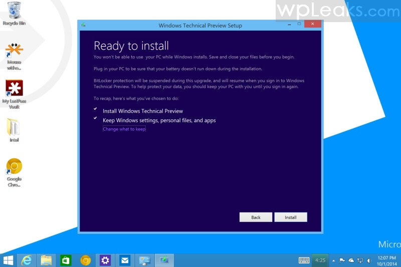 Win10 Install Screenshot 2