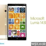 Концепт Microsoft Lumia 1430