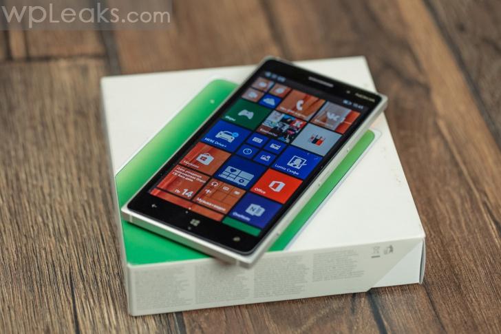 nokia lumia 830 распаковка