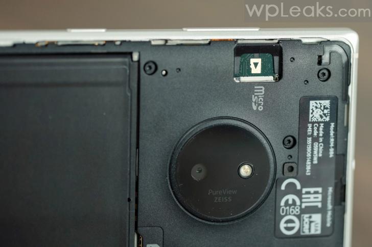 nokia lumia 830 под крышкой