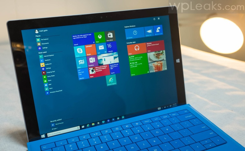 windows 10 preview surface pro 3