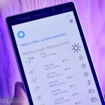 Cortana наконец-то научилась показывать температур...