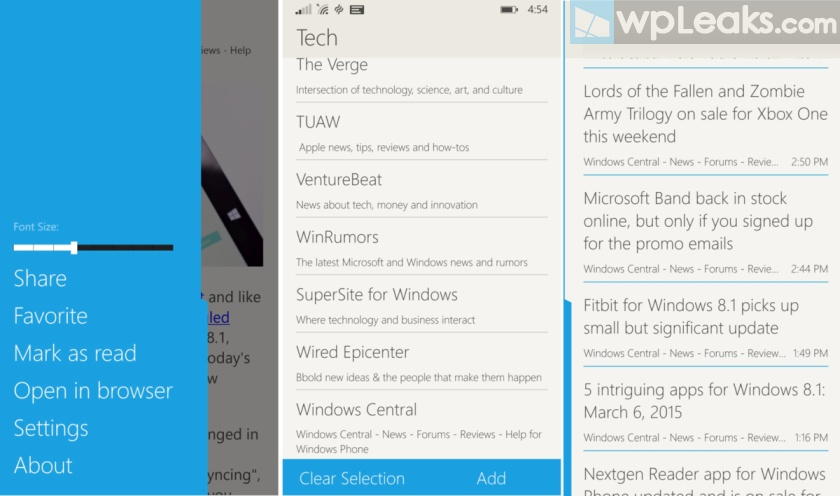 Fedora-Reader-Windows-Phone
