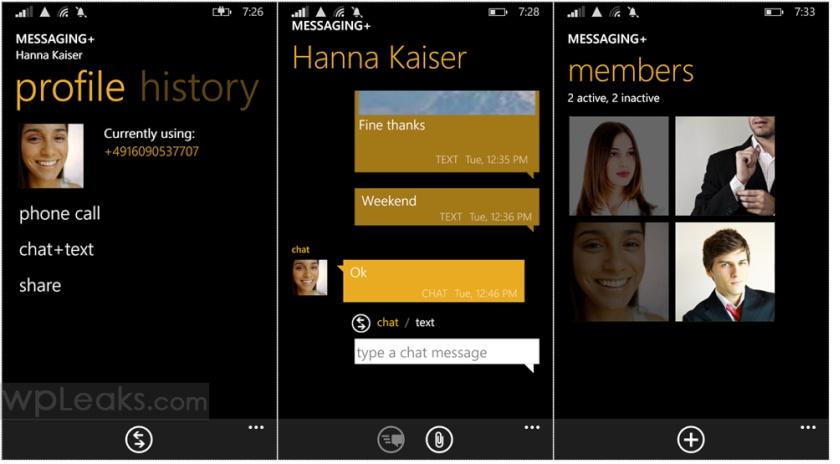 Lumia 535 Message