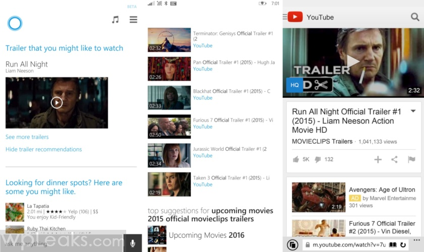 Trailers-Cortana-screens