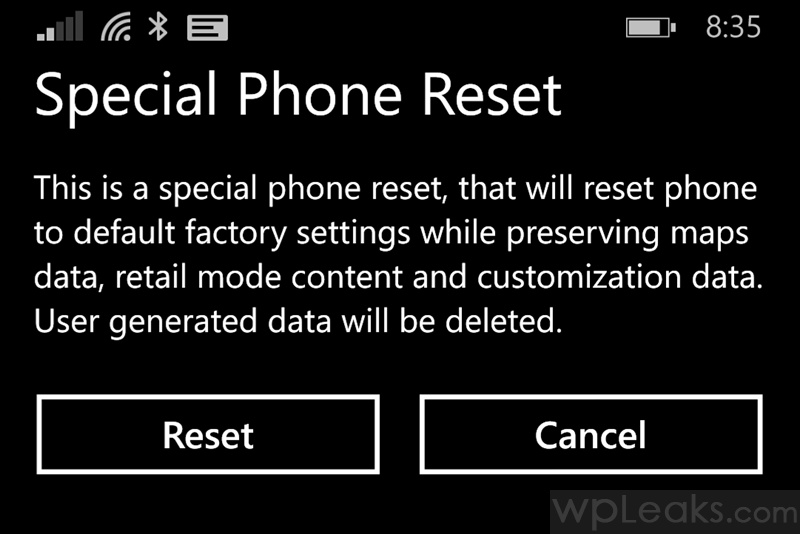 hard reset your Windows Phone