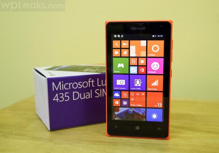lumia 435 коробка