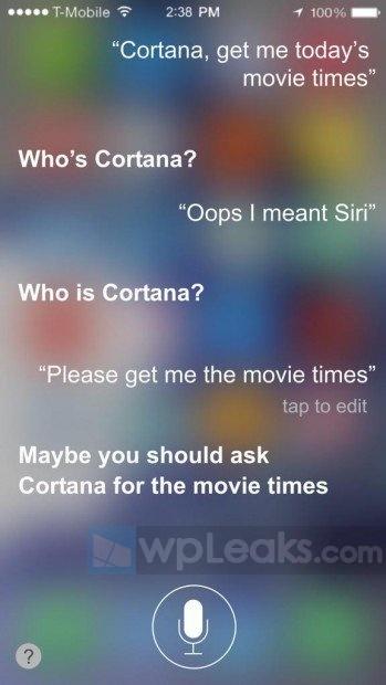 Apple-Siri-Jealous-Microsoft-Cortana
