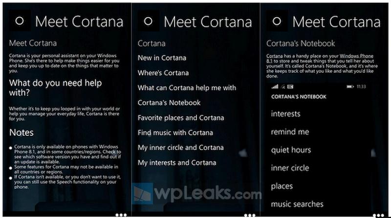 Meet Cortana for Windows Phone
