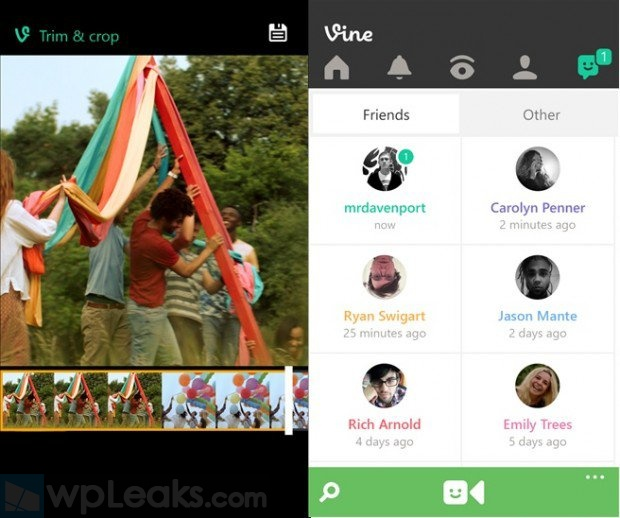 Vine-Windows-Phone