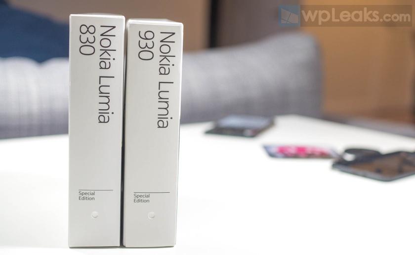 lumia 830 930 распаковка