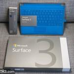 Распаковка Surface 3 и первые впечатления