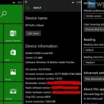 Отчет о Windows 10 Mobile сборка 10158, вывод Мага...