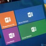 Майкрософт обновляет Office Mobile для Windows 10
