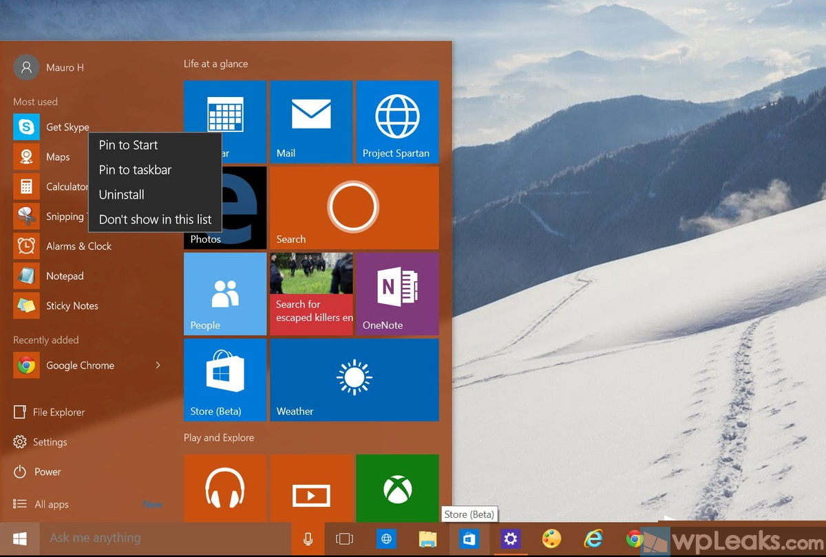 remove-item-start-menu-windows-10