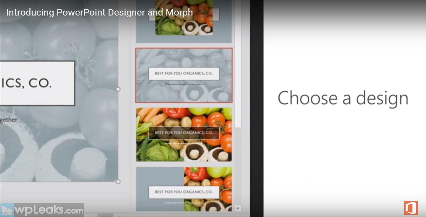 Introducing PowerPoint Designer and Morph