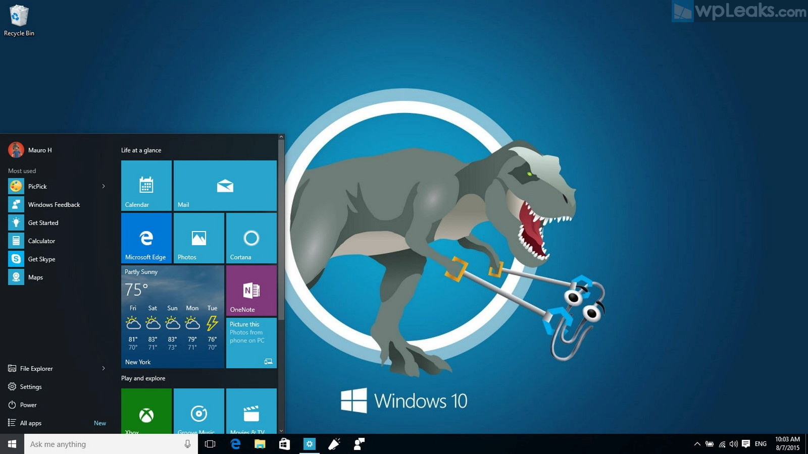 trex-windows-10-desktop