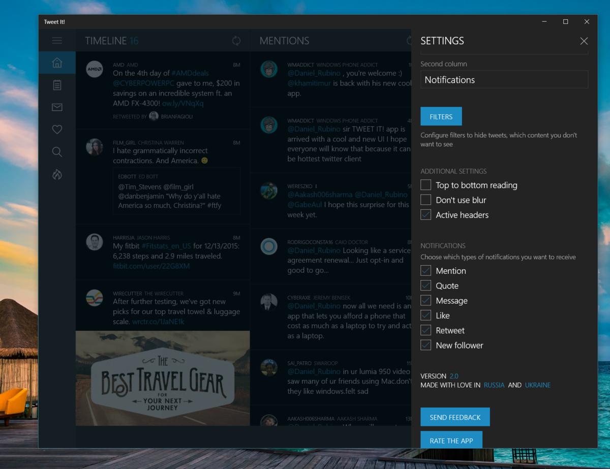 tweet-it-settings